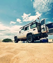 landcruiser off road car australia